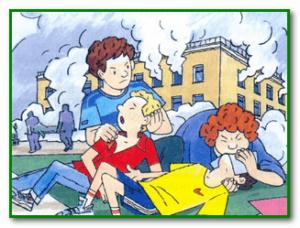 Отравлении угарным газом