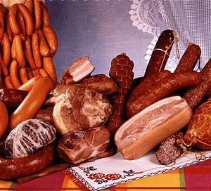 Отравление копчёной, кровяной и сырокопчёной колбасой