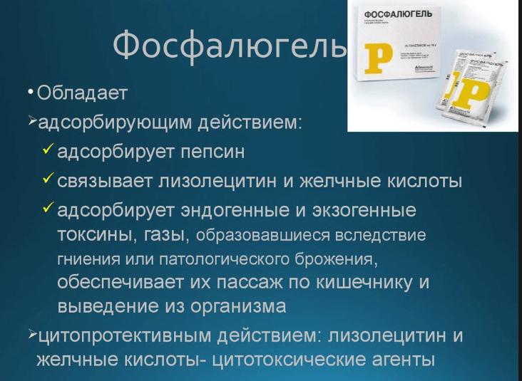 Фосфалюгель эффективность препарата