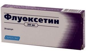 Передозировка флуоксетина
