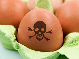 Отравление и симптомы яйцами