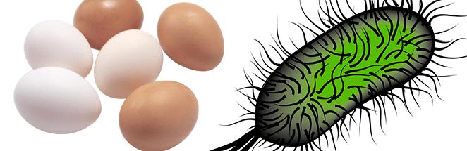 отравление яйцами симптомы
