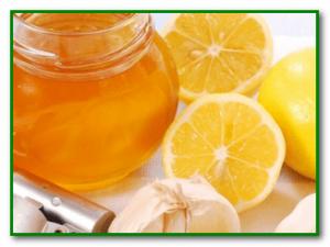 мед и чеснок для очищения сосудов