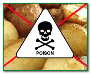 отравление картофелем симптомы