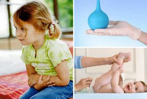 чесночная клизма ребенку