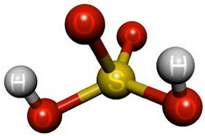отравление парами серной кислоты