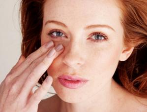 укуса мошка в область глаза